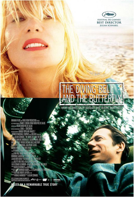 The Diving Bell and the Butterfly Poster #1