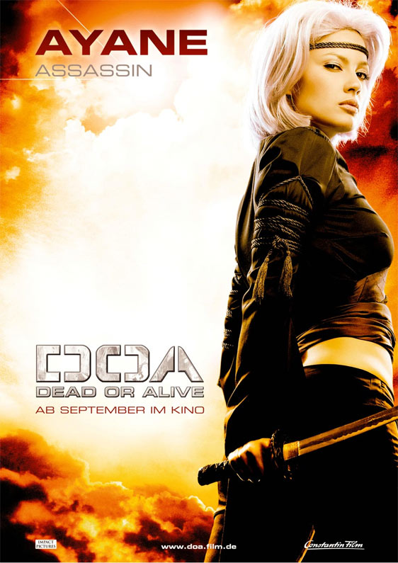 doa dead or alive 2007 poster 6 trailer addict