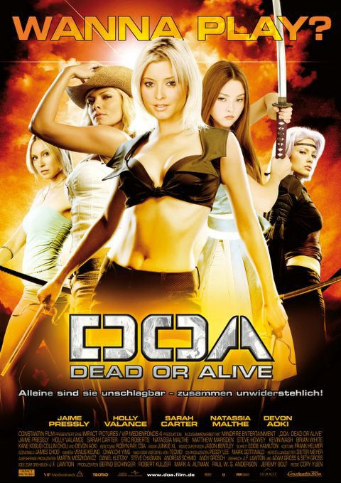 DOA: Dead or Alive Poster #1