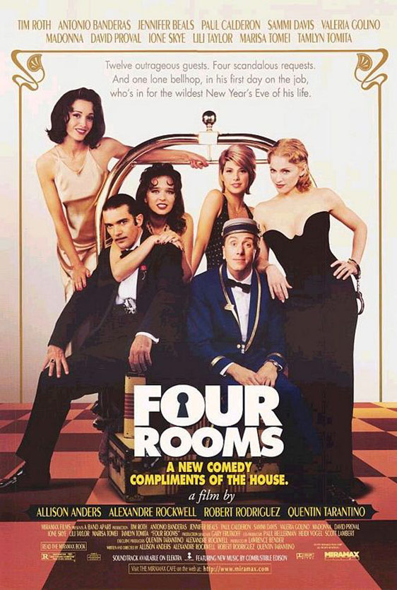 Four Rooms Poster #1