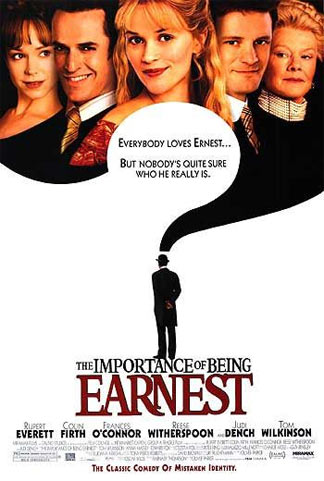 The Importance of Being Earnest Poster #1