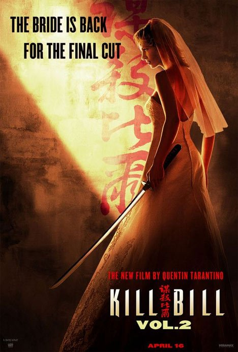 Kill Bill Vol. 2 Poster #1