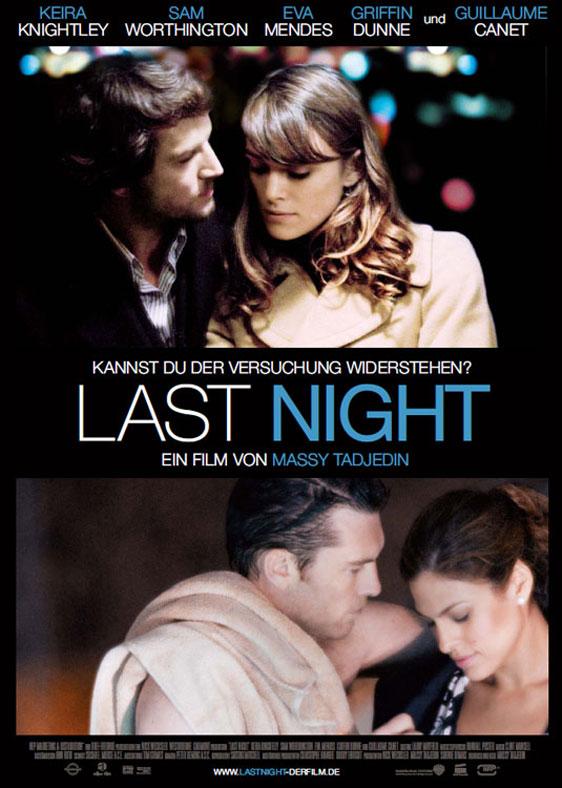 Last Night Poster #1