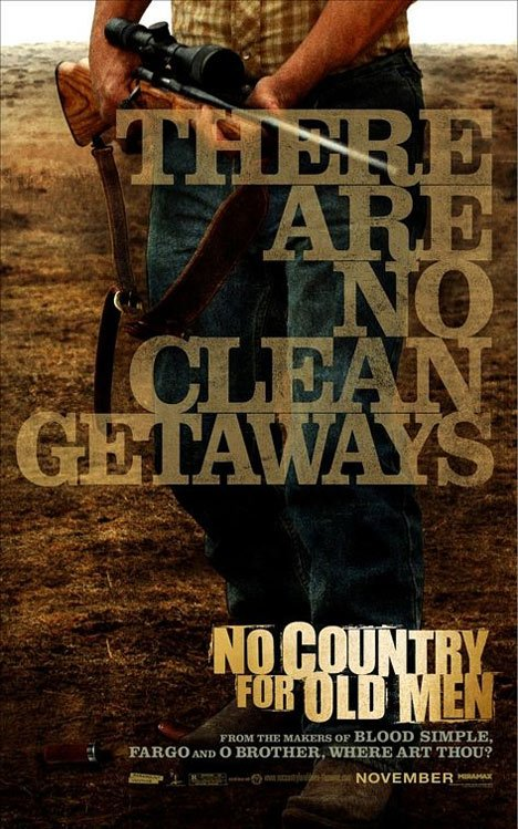 No Country for Old Men Poster #1