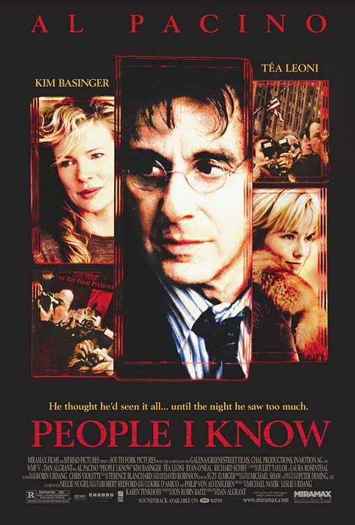 People I Know Poster #1