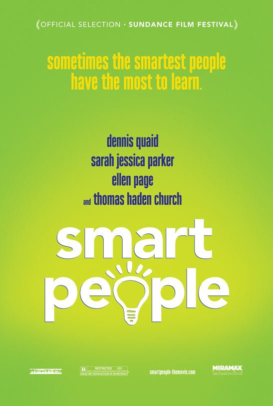 Smart People Poster #1