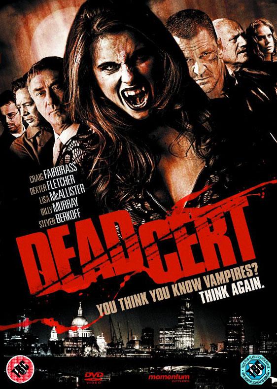 Dead Cert Poster #1
