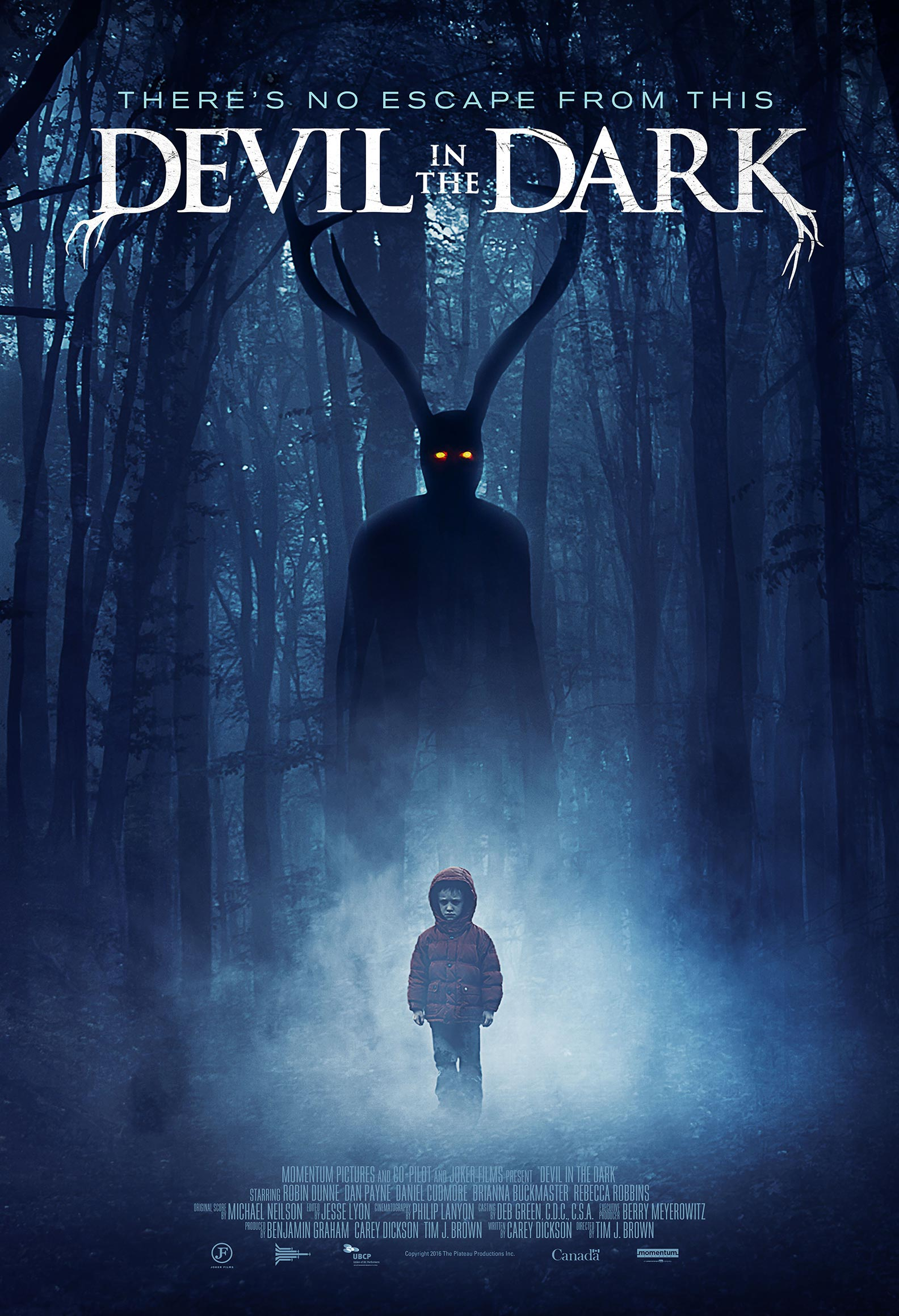 Devil in the Dark Poster #1