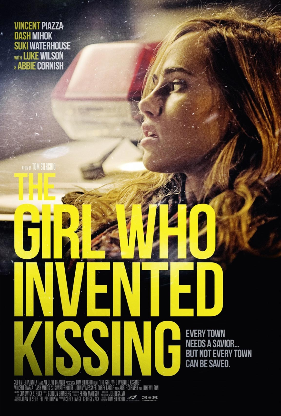 The Girl Who Invented Kissing Poster #1