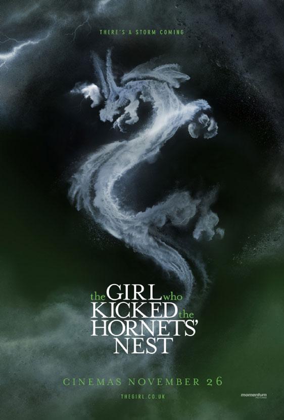 The Girl Who Kicked the Hornet's Nest Poster #2