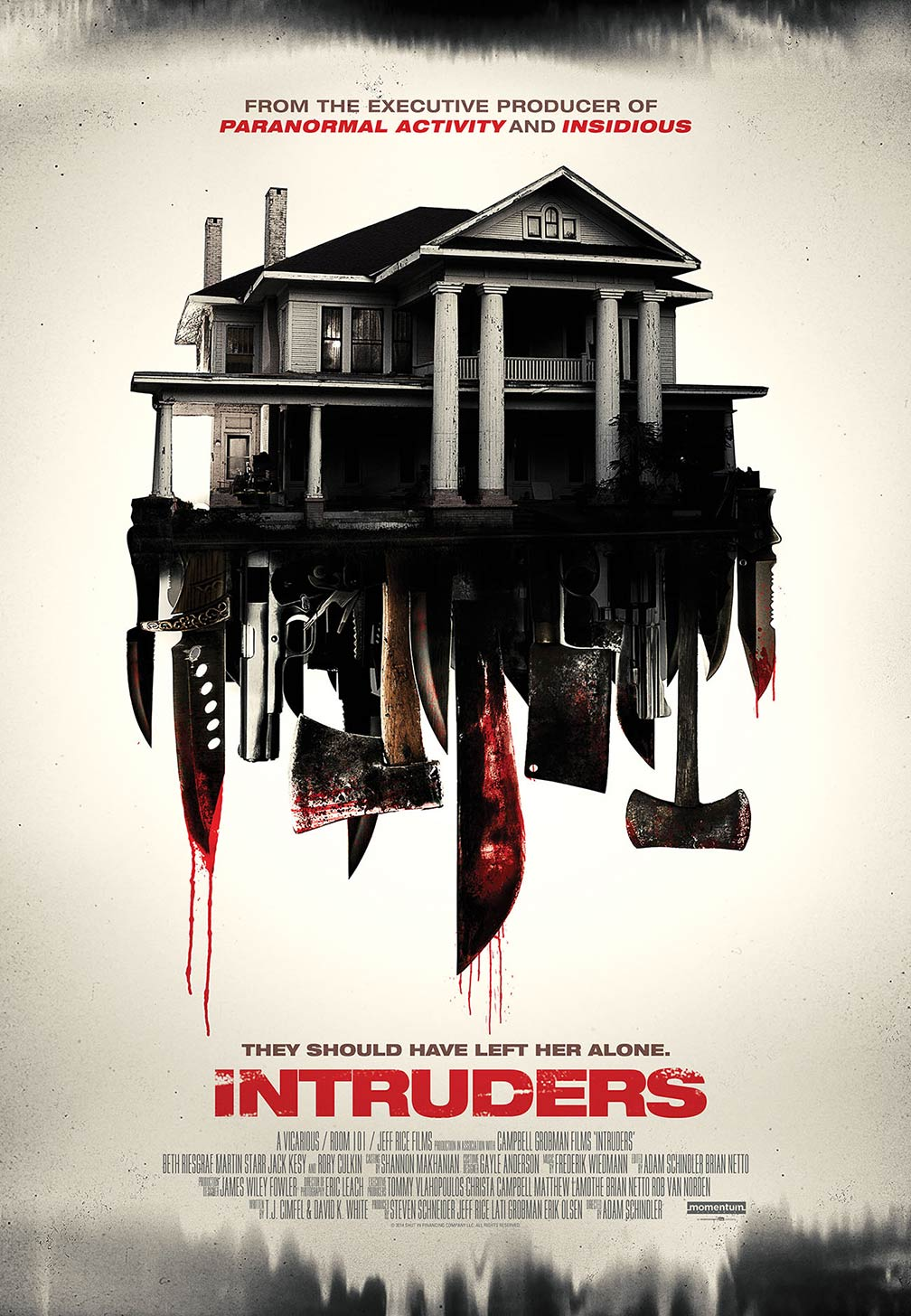 Intruders Poster #1