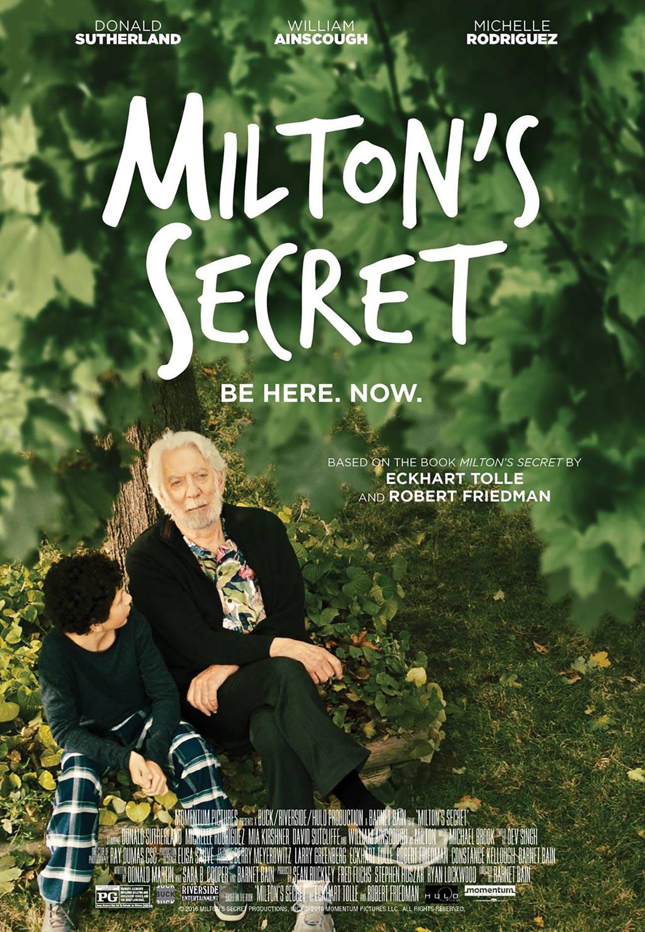 Milton's Secret Poster #1