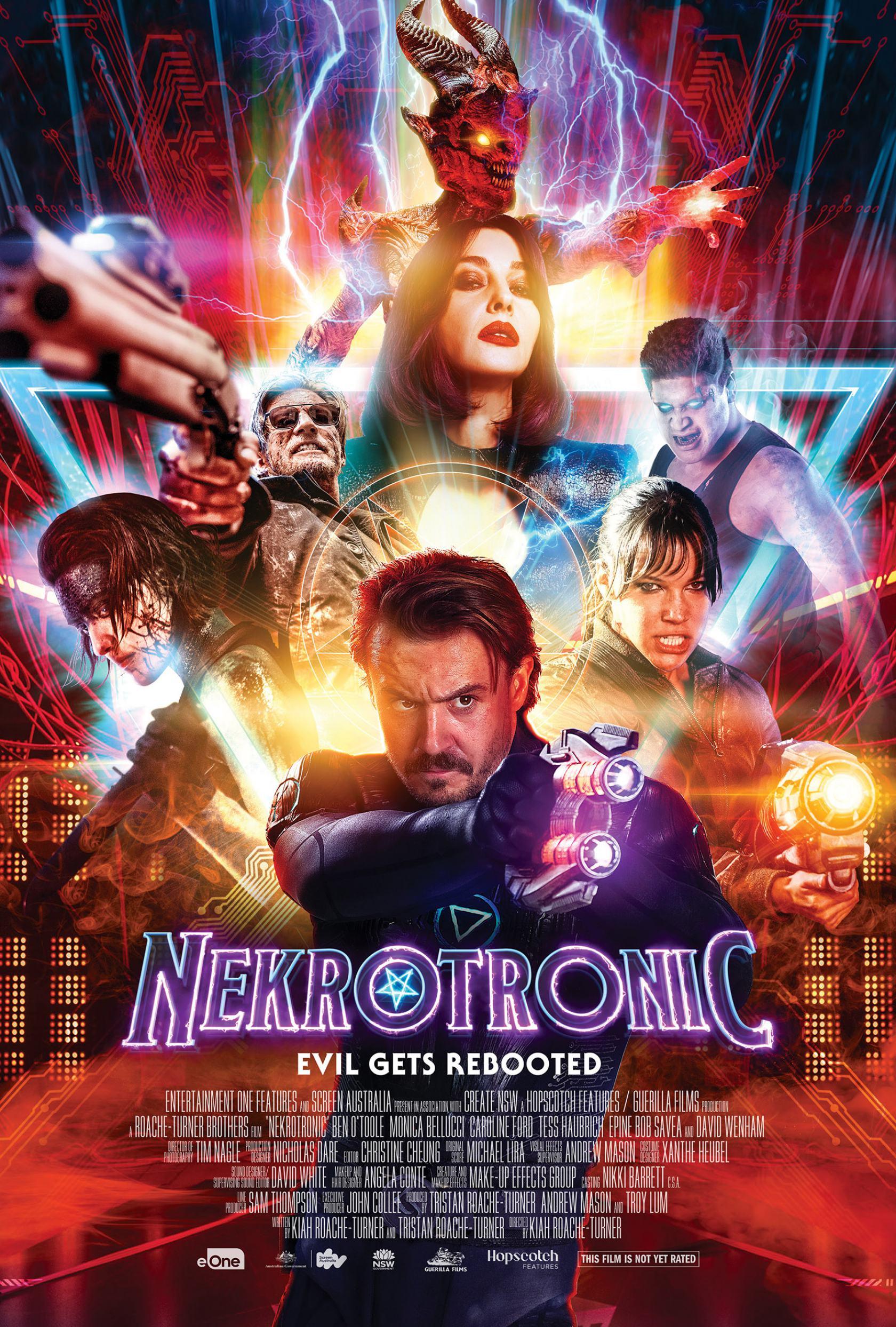 Nekrotronic Poster #1