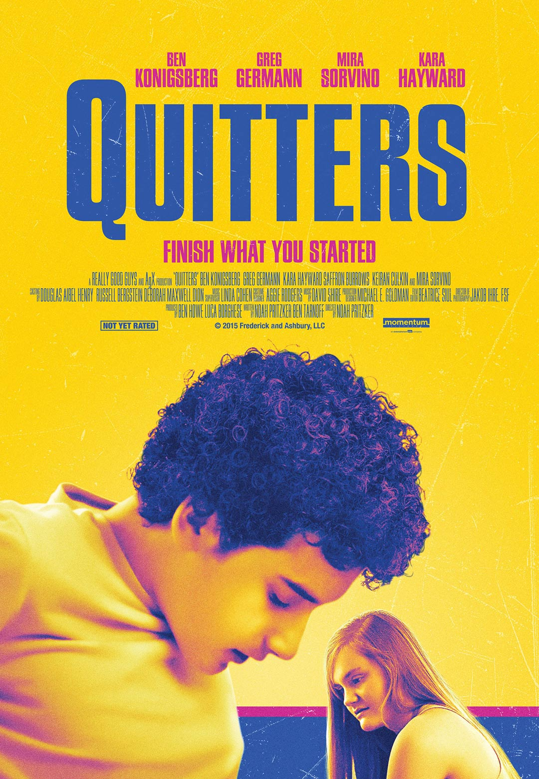 Quitters Poster #1