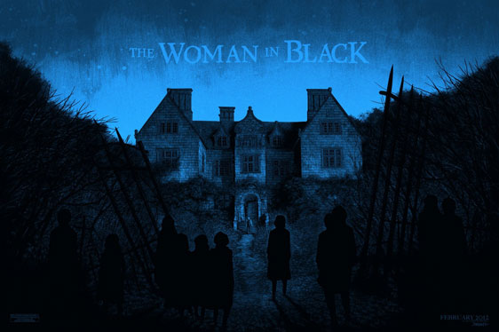 The Woman in Black Poster #3
