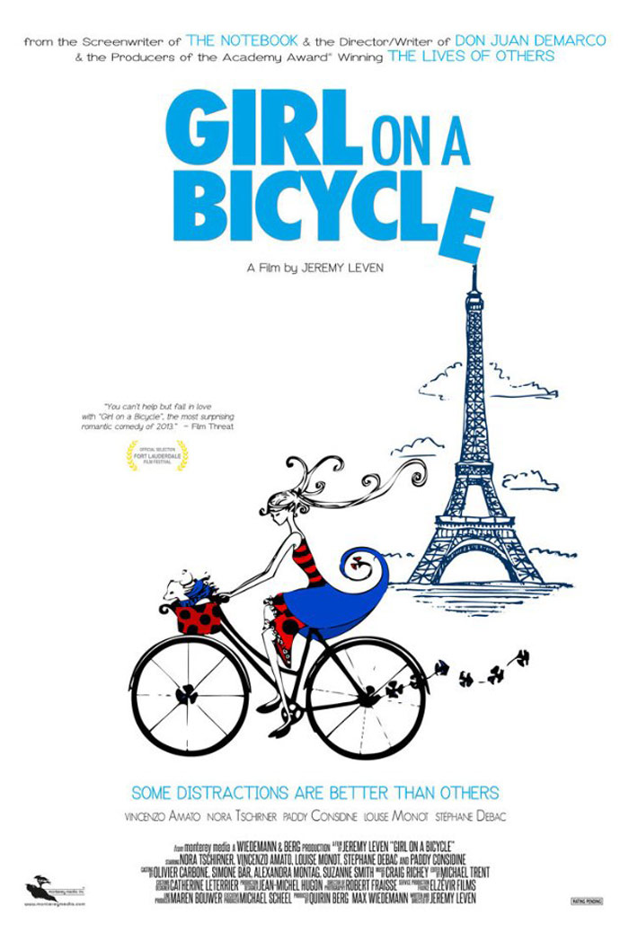 Girl on a Bicycle Poster #1