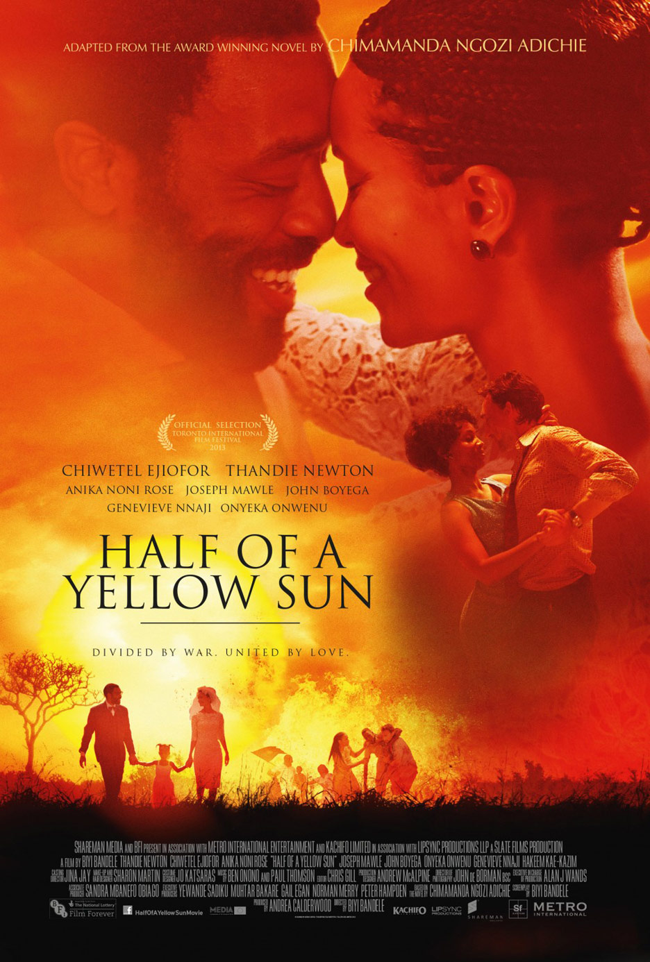 Half of a Yellow Sun Poster #1