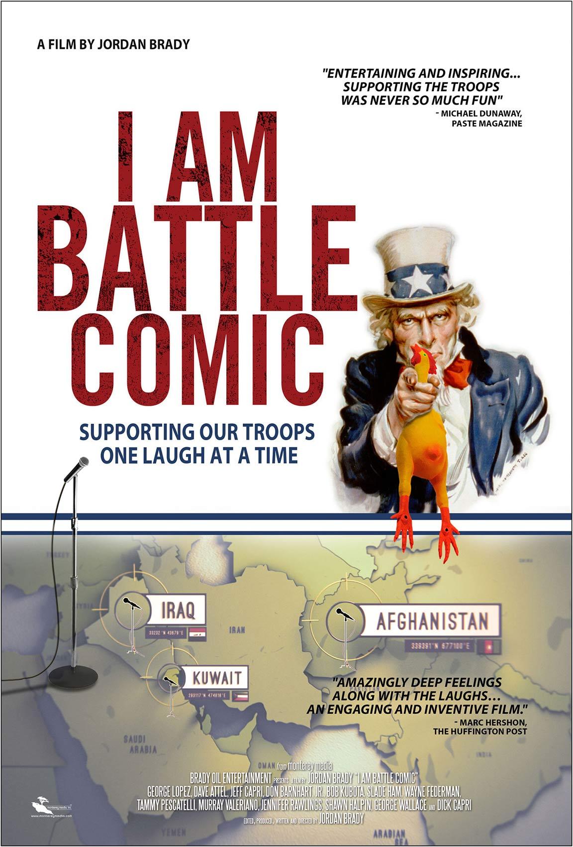I Am Battle Comic Poster #1