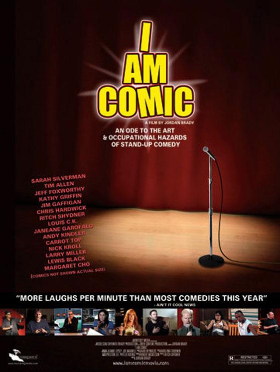 I Am Comic Poster #1