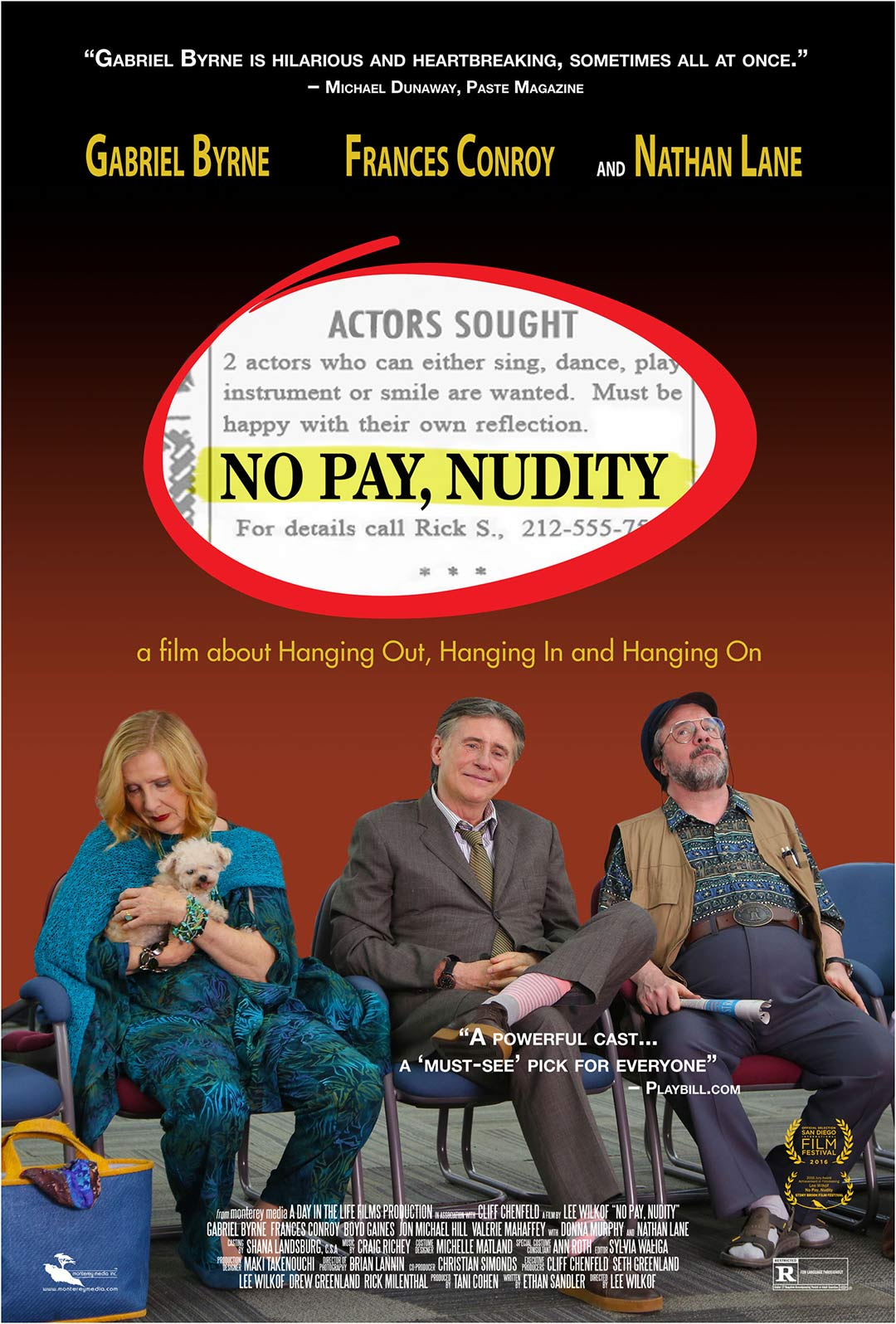 No Pay, Nudity Poster #1