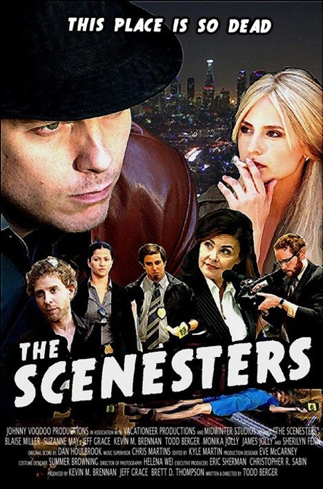 The Scenesters Poster #3