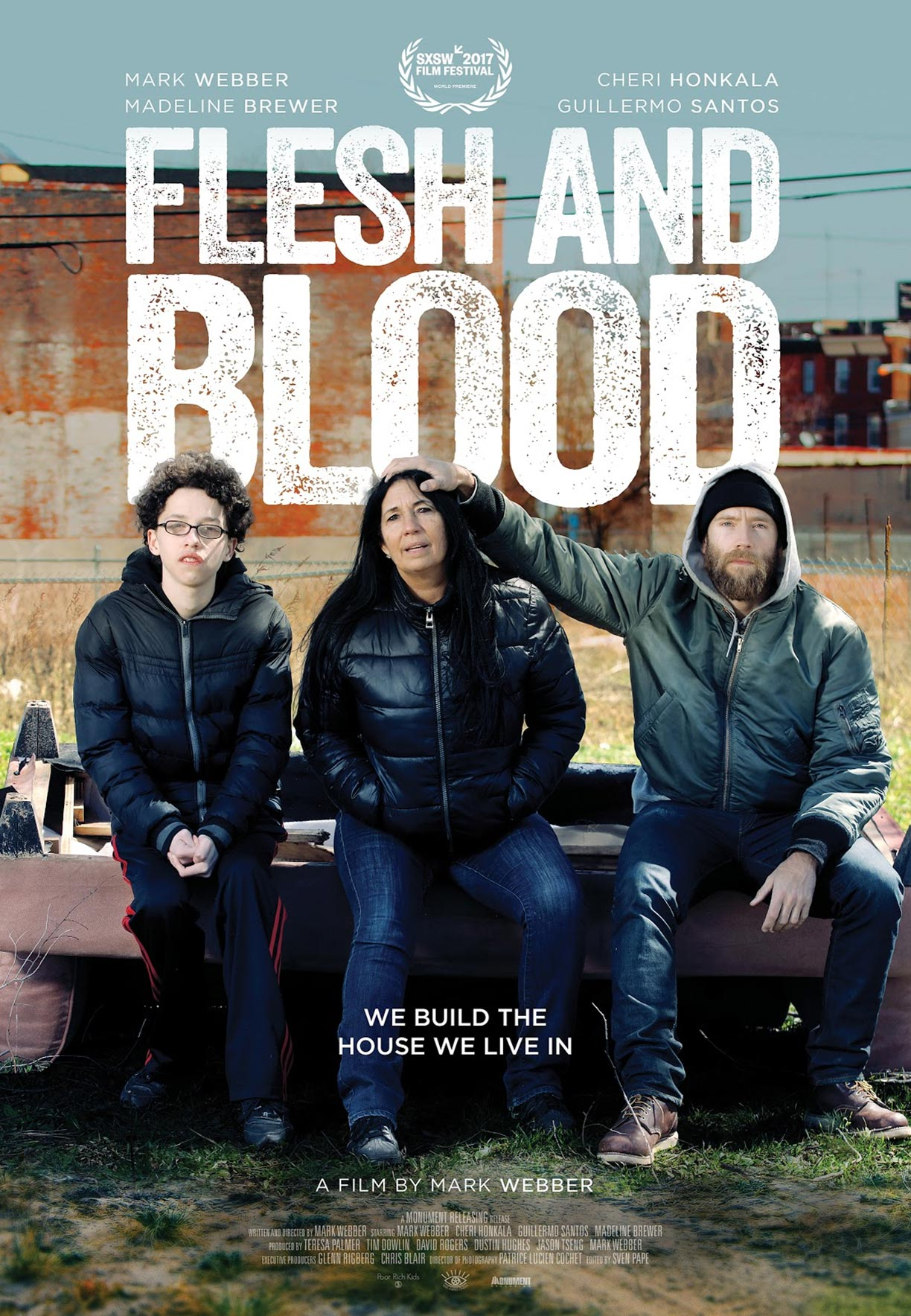 Flesh and Blood Poster #1
