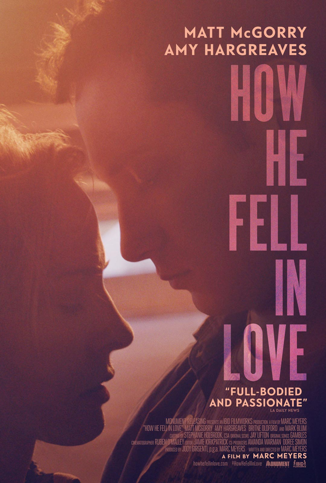 How He Fell in Love Poster #1