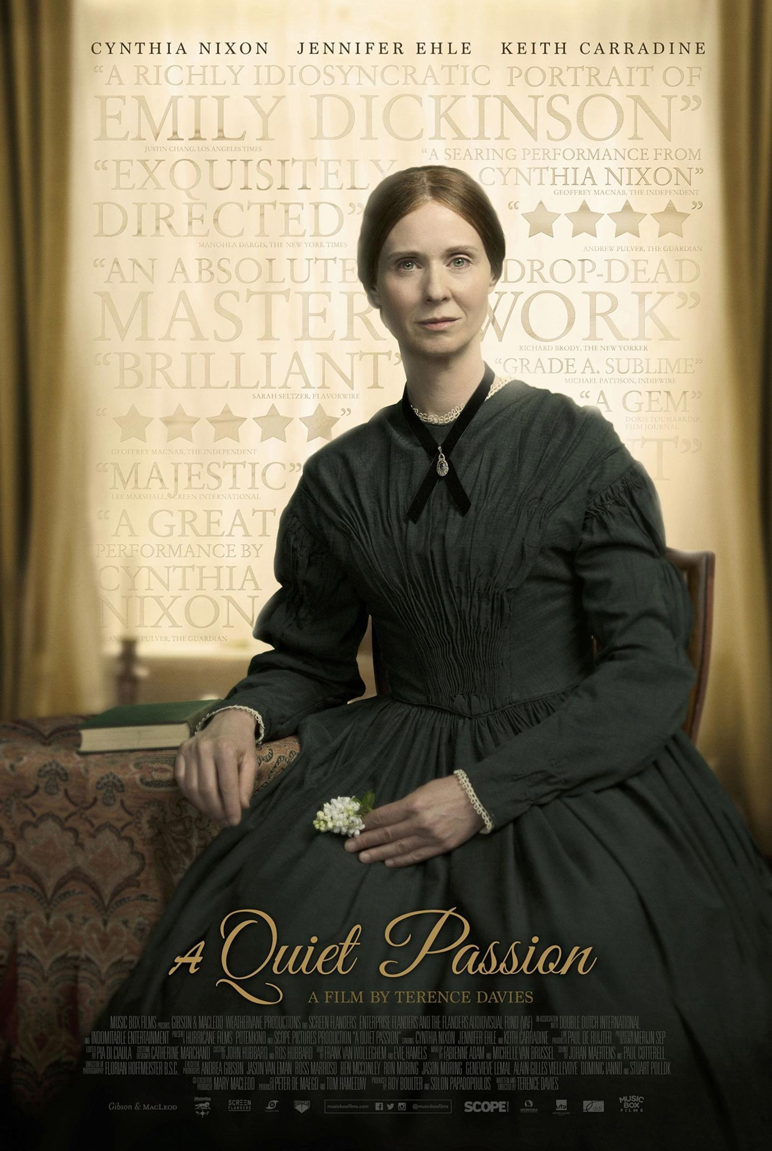 A Quiet Passion Poster #1