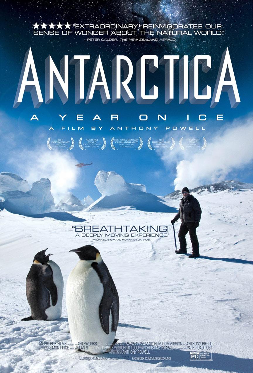 Antarctica: Year on Ice Poster #1