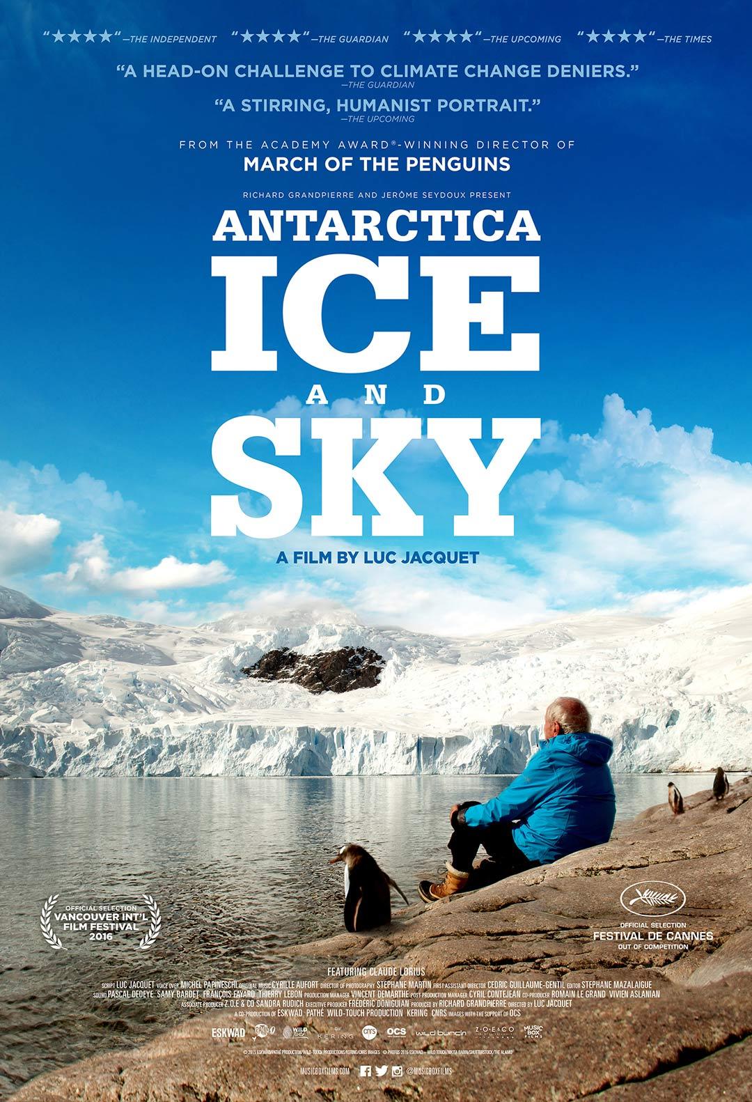 Antarctica: Ice & Sky Poster #1
