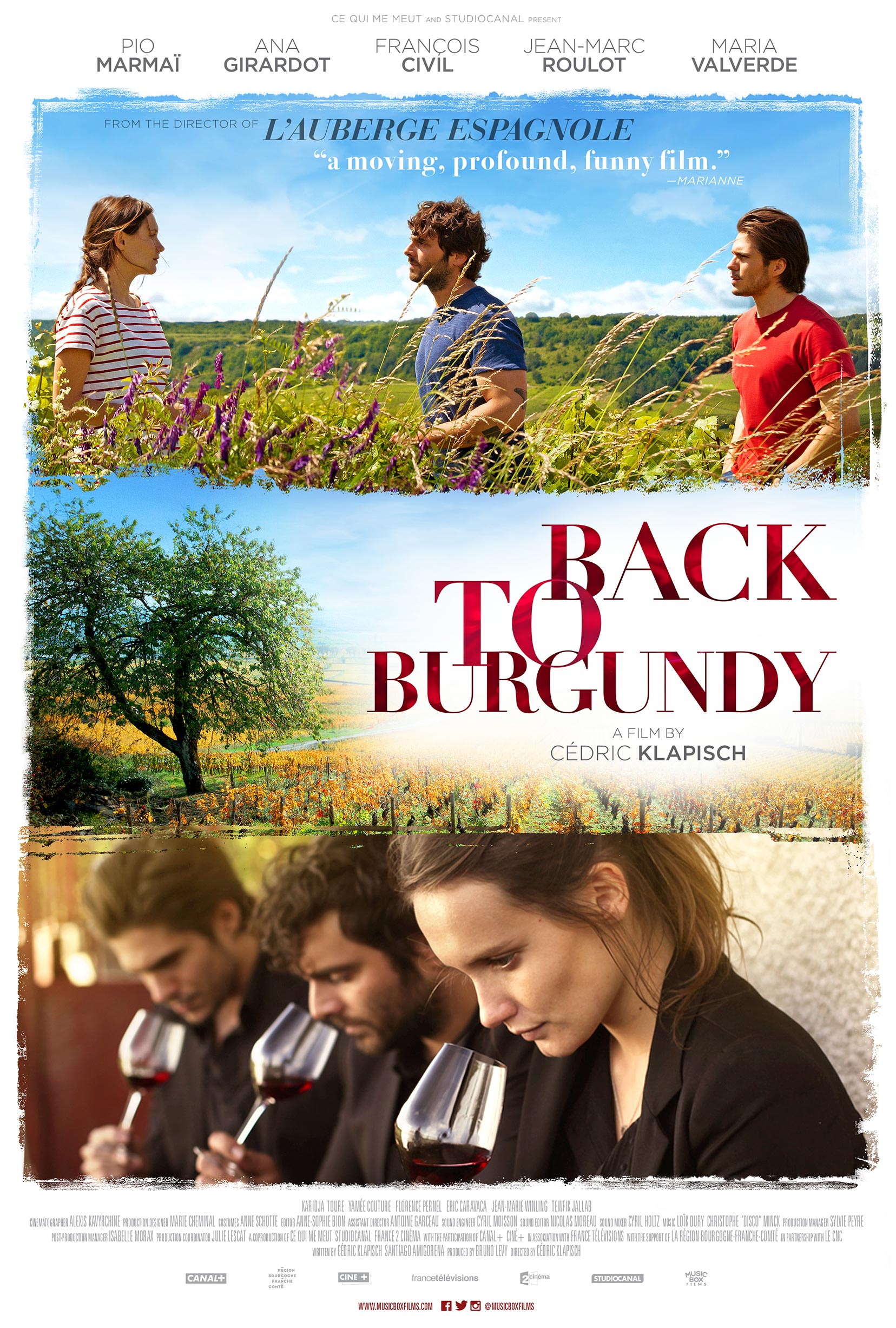 Back to Burgundy Poster #1