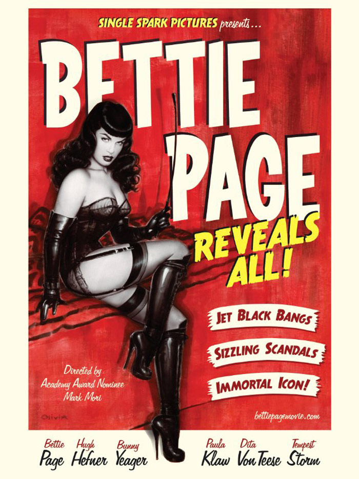 Bettie Page Reveals All Poster #1