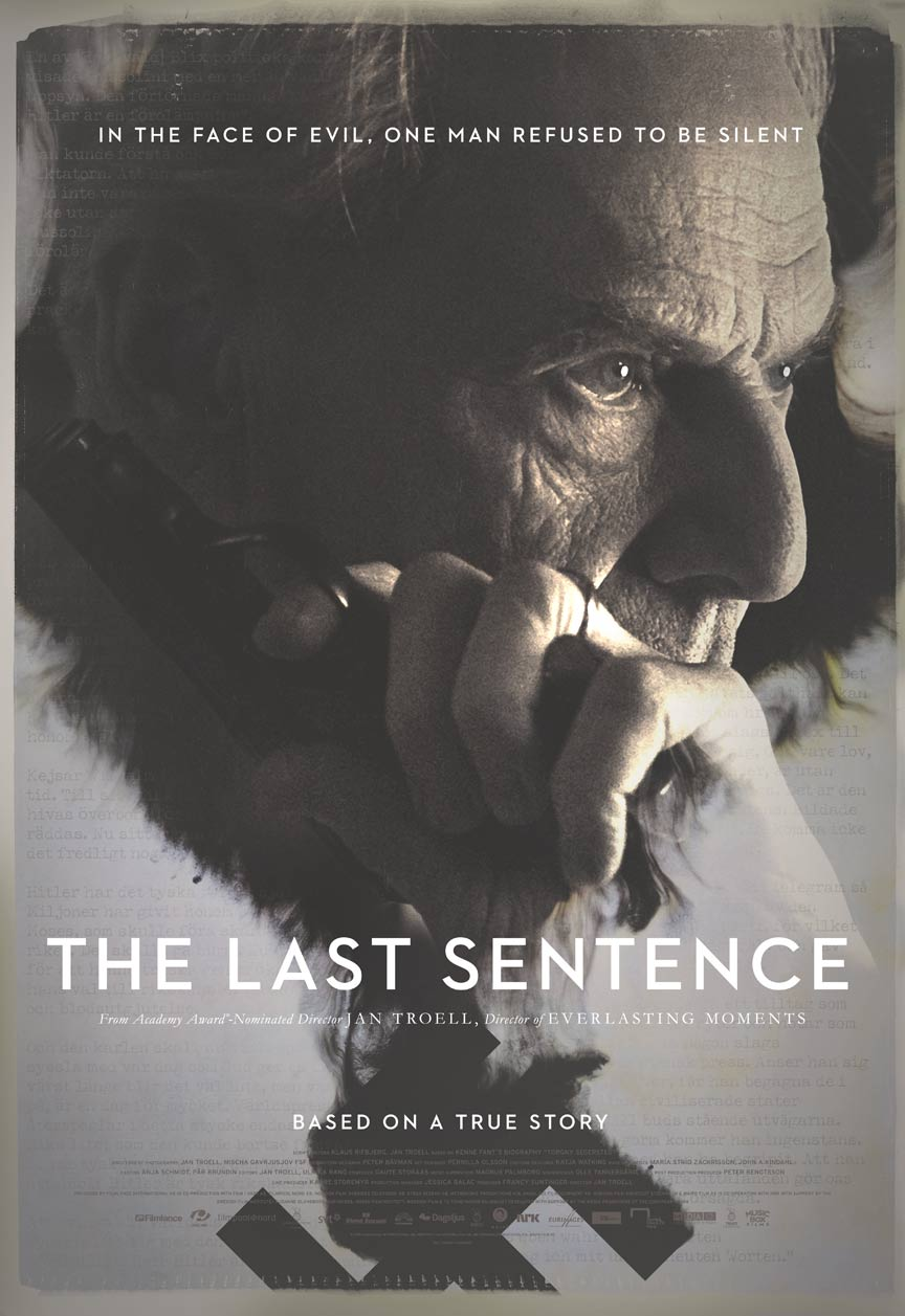 The Last Sentence Poster #1