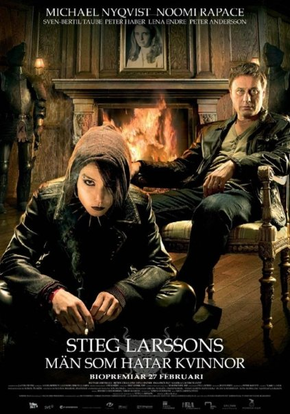 The Girl With The Dragon Tattoo (Män som hatar kvinnor) Poster #2
