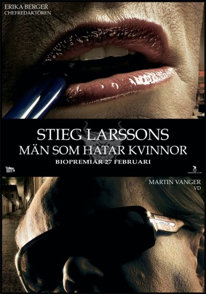 The Girl With The Dragon Tattoo (Män som hatar kvinnor) Poster #3