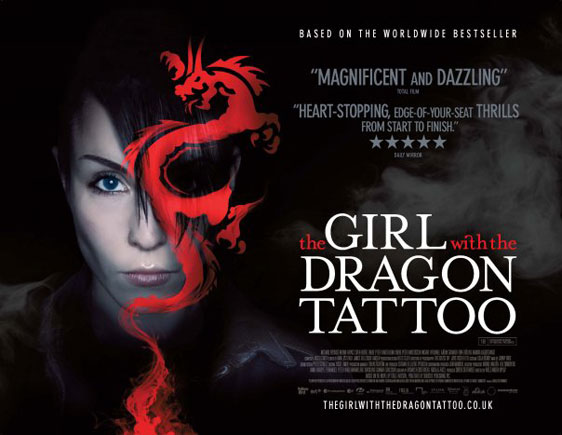 The Girl With The Dragon Tattoo (Män som hatar kvinnor) Poster #5