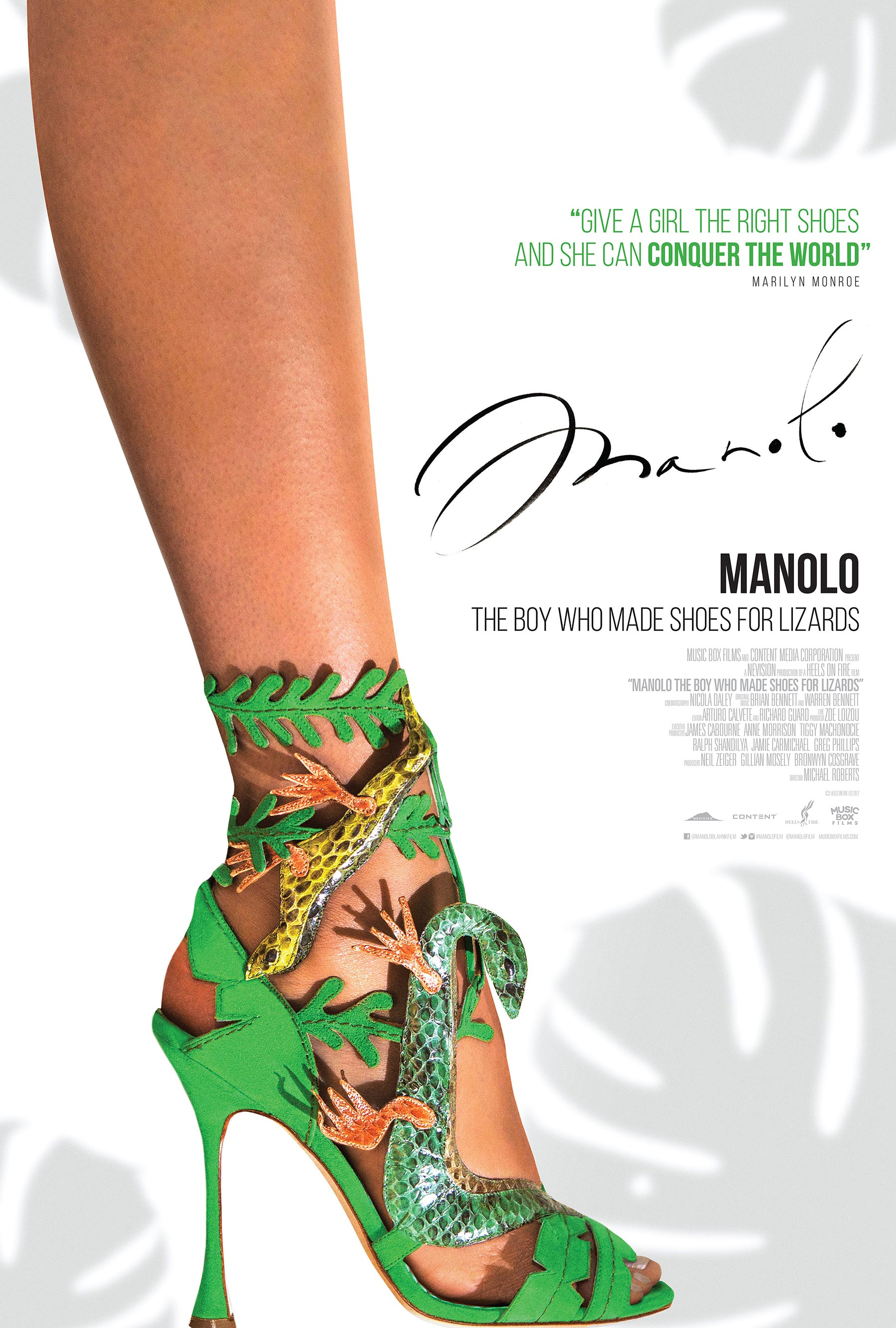 Manolo: The Boy Who Made Shoes for Lizards Poster #1