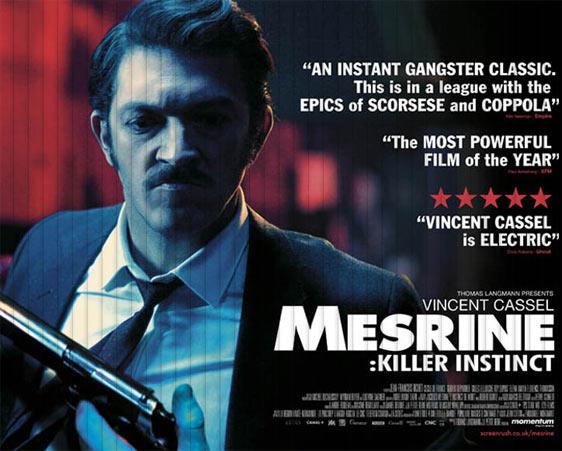 Mesrine: Killer Instinct Poster #1