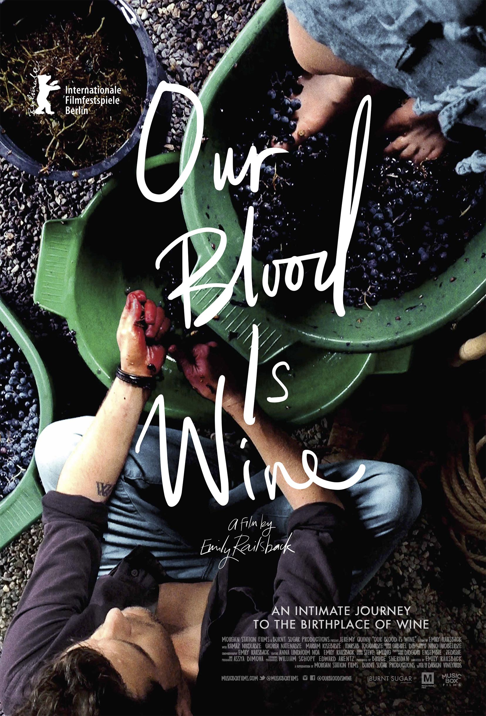 Our Blood Is Wine Poster #1