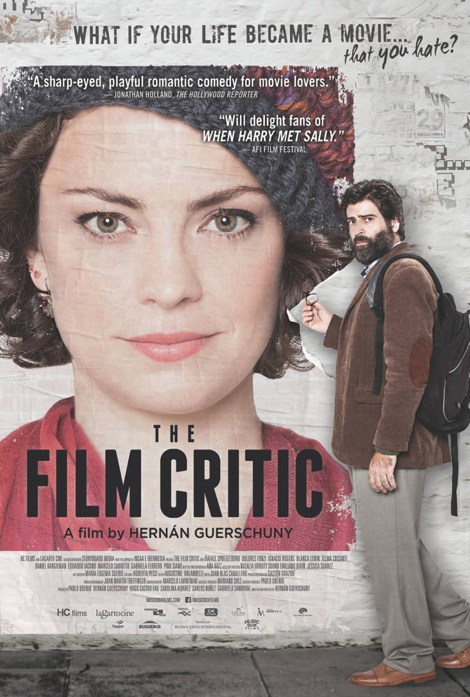The Film Critic Poster #1