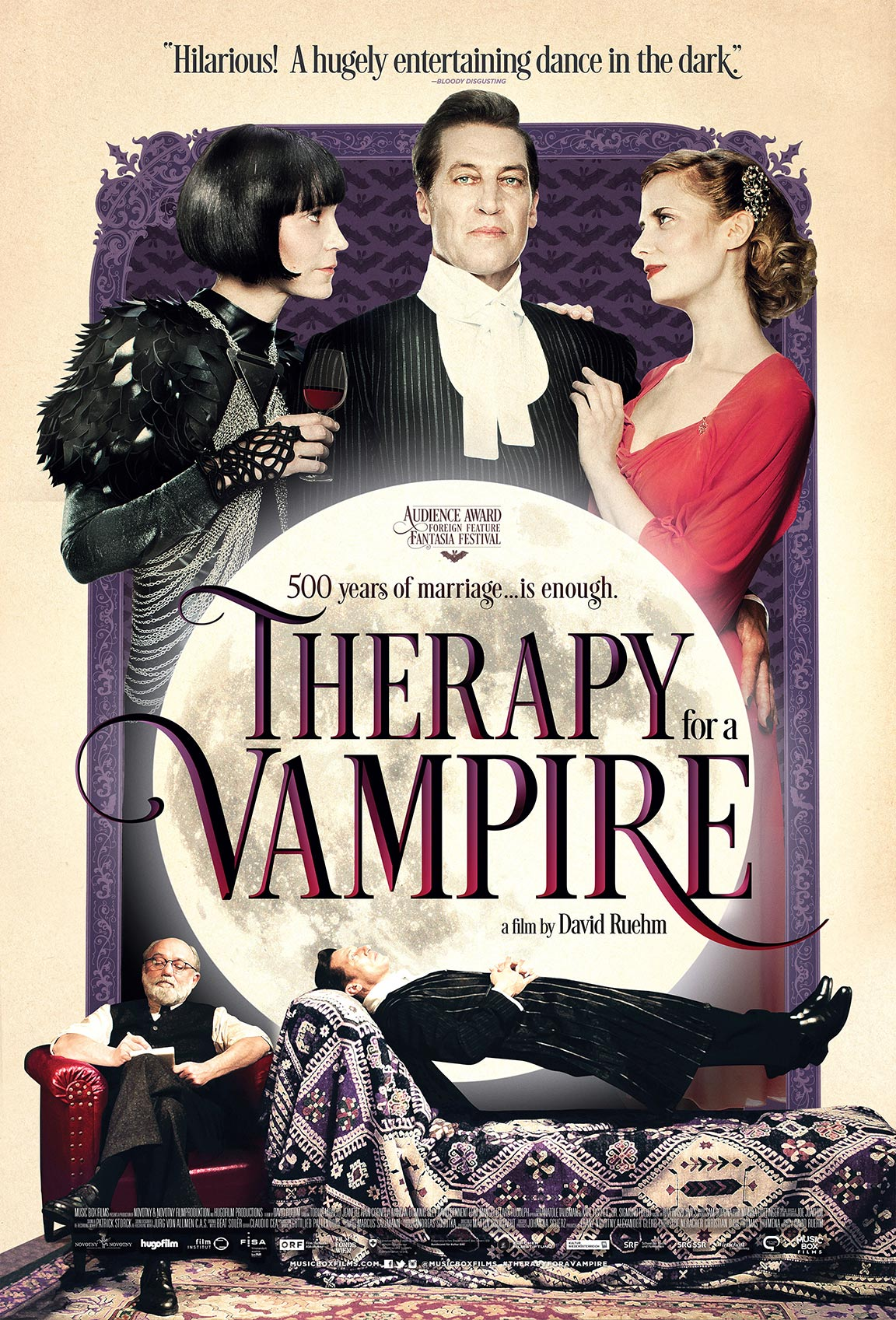 Therapy for a Vampire Poster #1