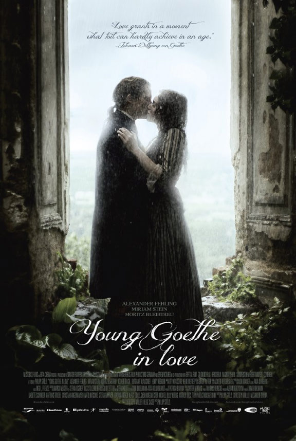 Young Goethe in Love Poster #1