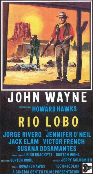 Rio Lobo Poster #1
