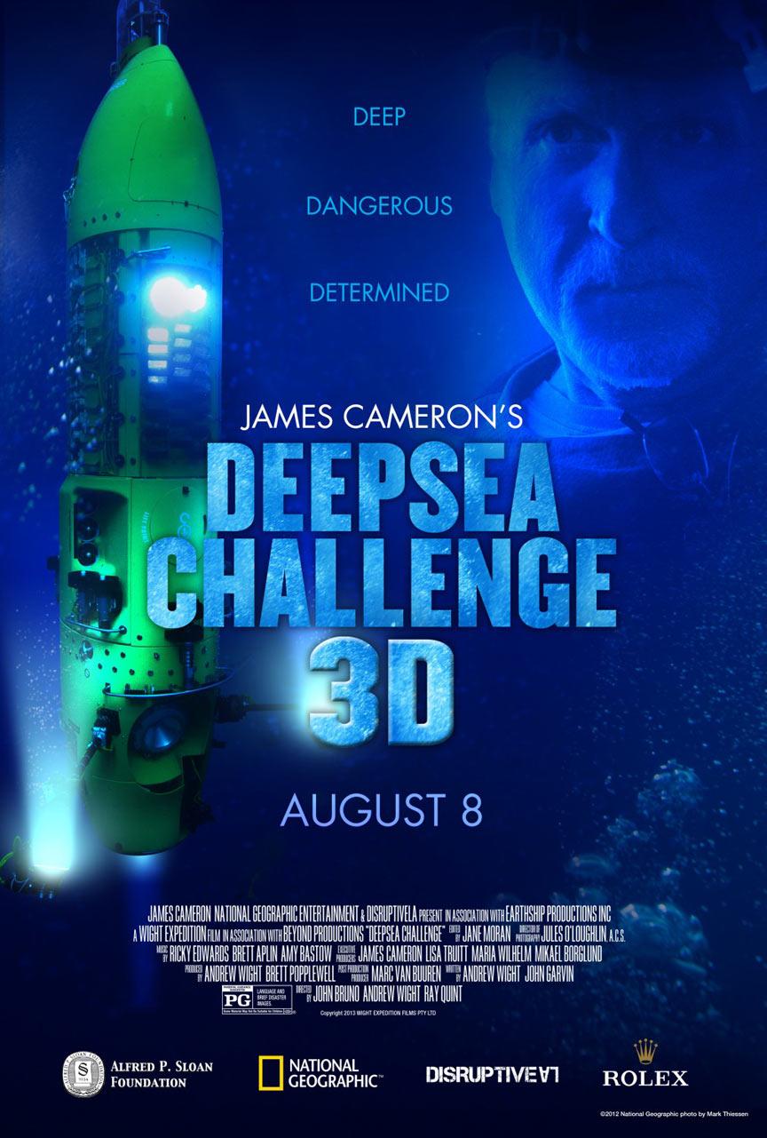 James Cameron's Deepsea Challenge 3D Poster #1