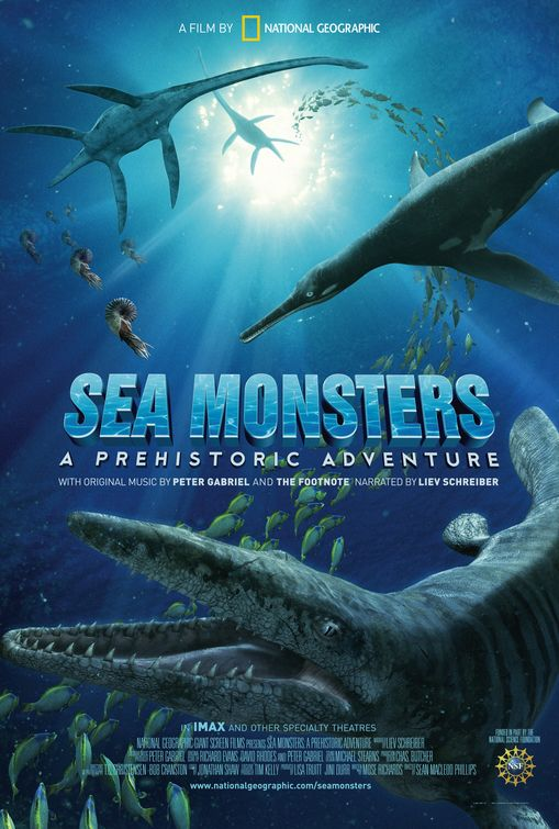 Sea Monsters: a Prehistoric Adventure Poster #1