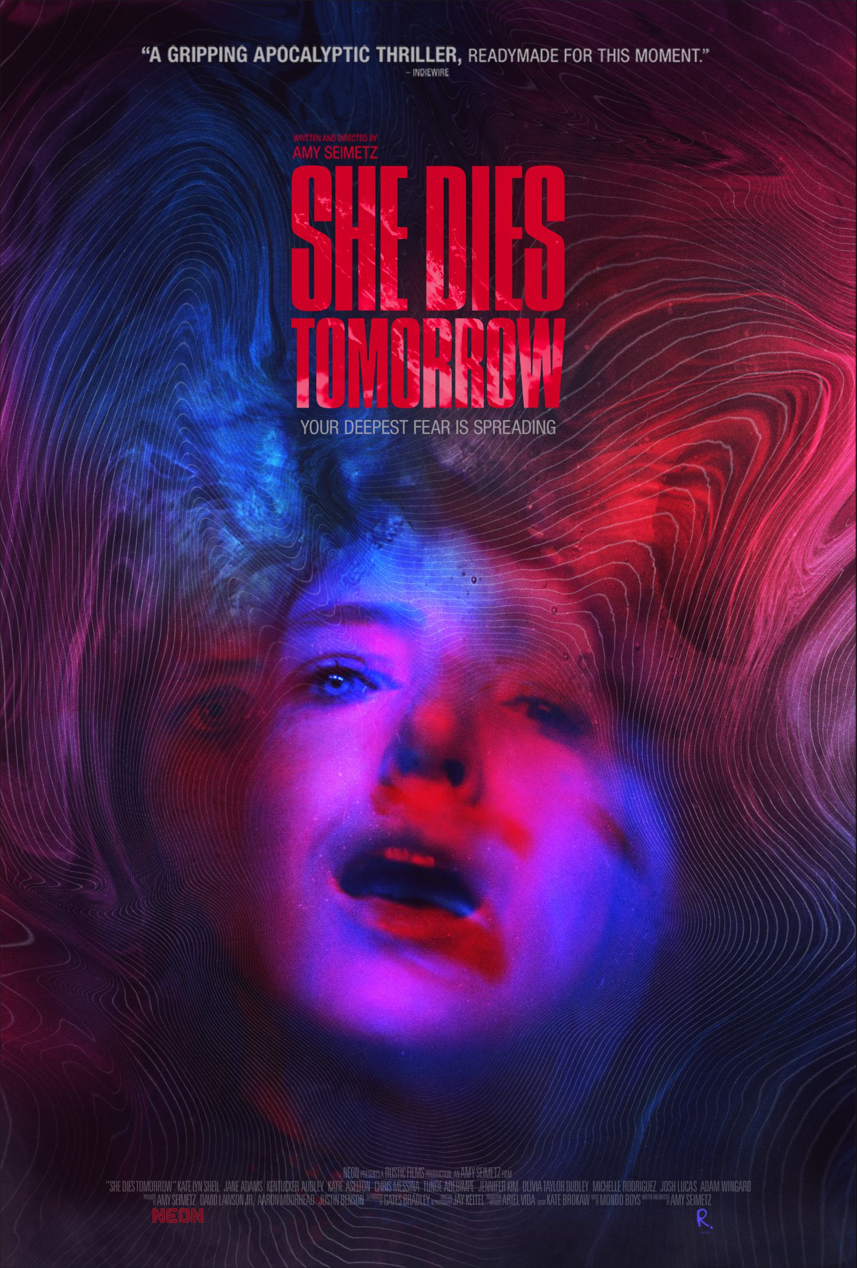 She Dies Tomorrow Poster #1