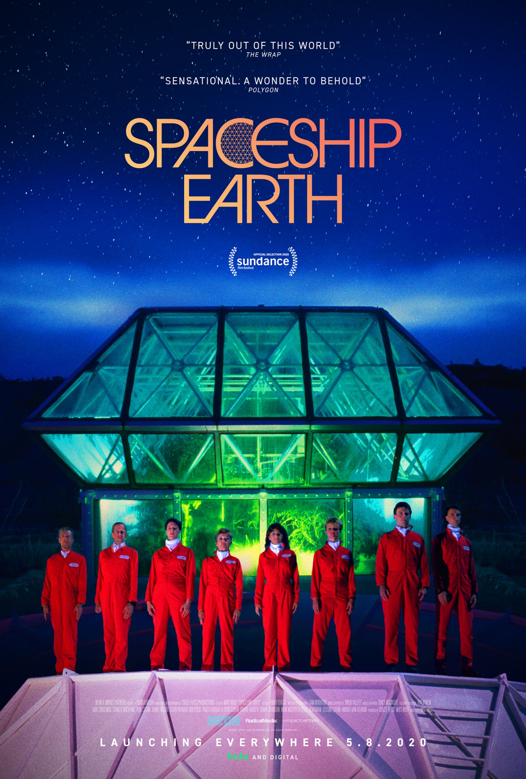 Spaceship Earth Poster #1