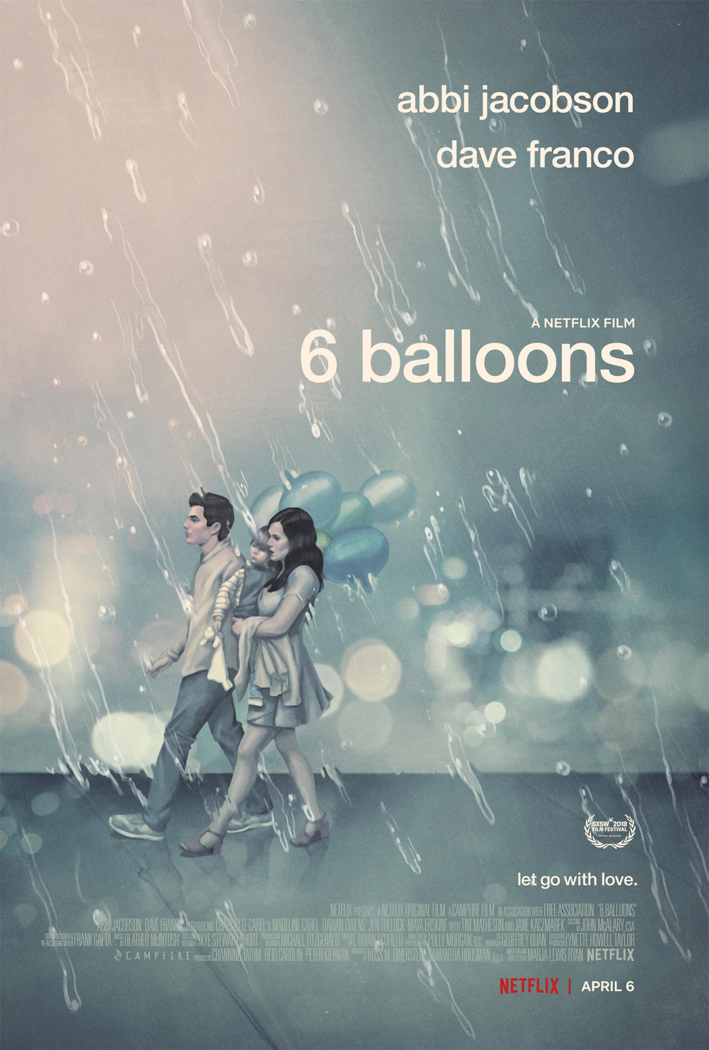 6 Balloons Poster #1