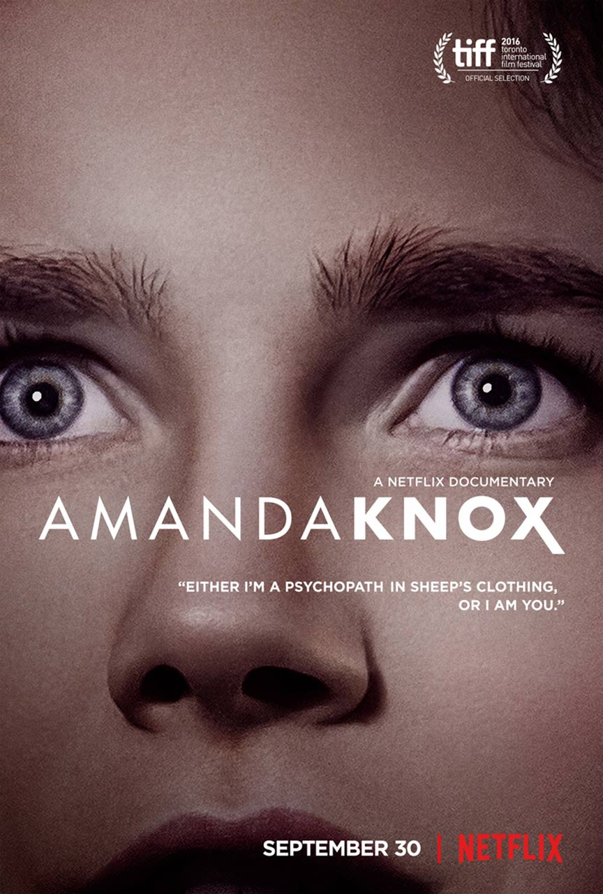 Amanda Knox Poster #1
