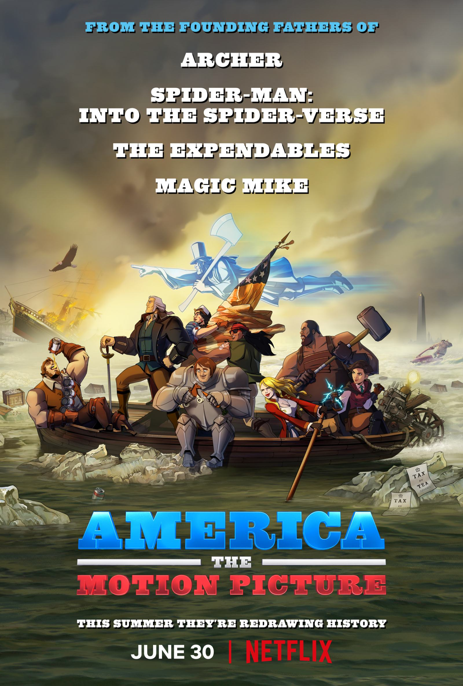 America: The Motion Picture Poster #1